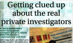 Getting Clued up about the Private Investigators Surrey Advertiser