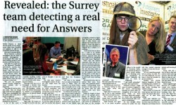media articles private Detective dorking & surrey